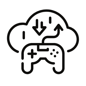 Cloud Gaming Icon
