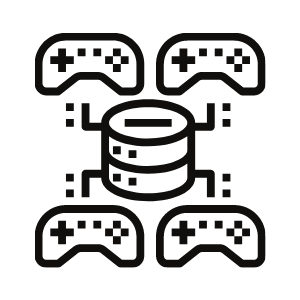 Gaming Network Icon
